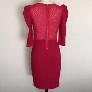 BB DAKOTA Red Bodycon Dress